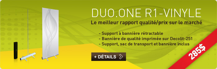 Promo Duo.One R1 Vinyle A